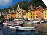 Portofino, Genoa, Italy Prints by Ken Gillham