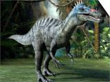 Suchomimus Dinosaur, Artwork Prints by Roger Harris