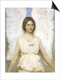 Angel, 1889 Prints by Abbott Handerson Thayer