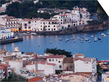 Cadaques, Mediterranean Harbour Town, Catalunya, Spain Posters by Christian Kober