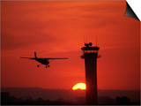 Long Beach Airport Control Tower, CA Prints by Doug Mazell