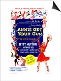 Annie Get Your Gun, 1950 Poster