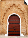 Traditional Doorway to Koutoubia Mosque Prints by Simon Montgomery