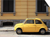 Old Car, Fiat 500, Italy, Europe Poster by Vincenzo Lombardo