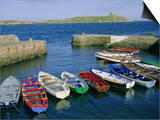 Dalkey Island and Coliemore Harbour, Dublin, Ireland, Europe Posters by Firecrest Pictures