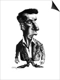 Ludwig Wittgenstein, Caricature Posters by Gary Gastrolab