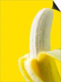 Peeled Banana Print by Victor Habbick