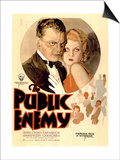 The Public Enemy, 1931 Poster