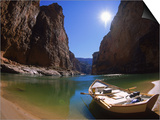 Empty Dory, Colerado River, Grand Canyon National Park, AZ Prints by Amy And Chuck Wiley/wales