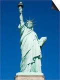 Statue of Liberty, Liberty Island, New York City, New York, United States of America, North America Poster by Amanda Hall