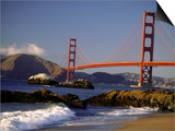 Golden Gate Bridge, CA Prints by Lynn Eodice
