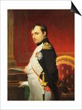 Delaroche, Portrait de l'empereur Napol 1er dans son cabinet Print by Paul Delaroche