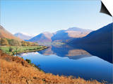 Wastwater, Lake District National Park, Cumbria, England, United Kingdom Posters by Jonathan Hodson