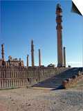 Persepolis, UNESCO World Heritage Site, Iran, Middle East Prints by Harding Robert