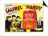 Sons of the Desert, 1933 Poster
