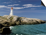 Peggy's Cove Lighthouse, Nova Scotia, Canada Prints by Dennis Macdonald