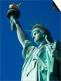 Statue of Liberty, Liberty Island, New York City, New York, USA Print by Amanda Hall