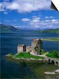 Eilean Donan Castle, Highlands, Scotland, United Kingdom, Europe Poster