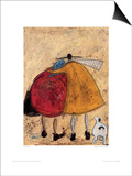 Hugs On The Way Home Prints by Sam Toft