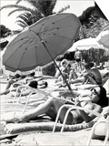 "Sunbathing in the ""60S Posters"