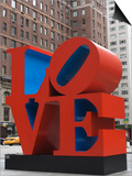 Love Sculpture by Robert Indiana, 6th Avenue, Manhattan, New York City, New York, USA Poster by Amanda Hall