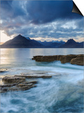 Sunset at Elgol Beach on Loch Scavaig, Cuillin Mountains, Isle of Skye, Scotland Posters by Chris Hepburn