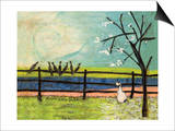Doris and the Birdies Posters by Sam Toft