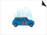 Mini London Affischer av Barry Goodman