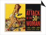 Attack of the 50 Foot Woman, 1958 Prints