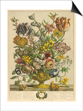 April Print by Robert Furber