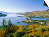 Eilean Donan (Eilean Donnan) Castle, Dornie, Highlands Region, Scotland, UK, Europe Print by Roy Rainford