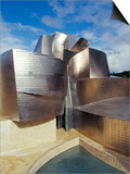 Guggenheim Museum, Designed by American Architect Frank O. Gehry, Opened 1997, Bilbao Prints by Christopher Rennie