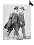 The Wright Brothers, US Aviation Pioneers Posters by Science, Industry and Business Library