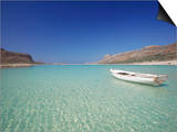 Balos Bay and Gramvousa, Chania, Crete, Greek Islands, Greece, Europe Prints by Sakis Papadopoulos