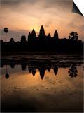 Sunrise over Angkor Wat Plakater af Ben Pipe