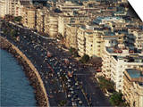 Marine Drive, Bombay City (Mumbai), India Prints by Alain Evrard