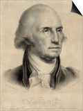 George Washington, First US President Poster by Library of Congress
