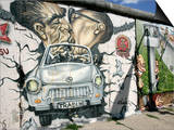 East Side Gallery, Berlin Wall Museum, Berlin, Germany, Europe Poster by Hans-Peter Merten