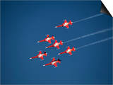 Aerobatic Team, Patrouille Swiss, Switzerland, Europe Prints by Hans-Peter Merten