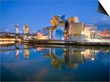 Guggenheim Museum, Bilbao, Euskal Herria, Euskadi, Spain, Europe Art by Ben Pipe