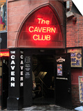 Cavern Club, Mathew Street, Liverpool, Merseyside, England, United Kingdom, Europe Posters by Wendy Connett