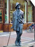 Statue of James Joyce, Dublin, County Dublin, Ireland, Eire Plakater af Roy Rainford