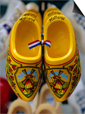Wooden Clogs, Amsterdam, Holland Art by Gavin Hellier