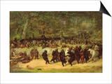La danza del oso Pósters por William Holbrook Beard