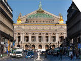 Opera Garnier Building, Paris, France, Europe Prints by Marco Cristofori