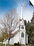 Historic St. Peter's Episcopal Church, Carson City, Nevada, United States of America, North America Posters by Michael DeFreitas