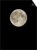 Full Moon Print by Eckhard Slawik