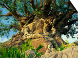 Tree of Life, Animal Kingdom, Disneyworld, Orlando, Florida, USA Art by Tomlinson Ruth