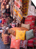 Goods in the Souks in the Medina, Marrakech, Morocco, North Africa, Africa Prints
