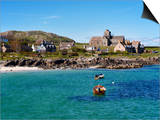 Iona Abbey, Isle of Iona, Inner Hebrides, Scotland, Uk Posters par Patrick Dieudonne